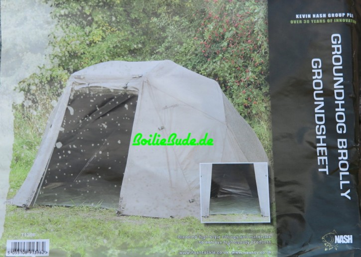 Nash Tackle Groundhog Brolly Heavy Duty Groundsheet