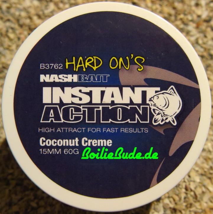 Nashbait Instant Action Coconut Creme Hard On´s 15mm