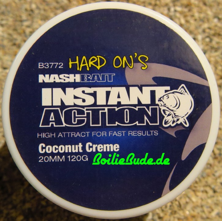 Nashbait Instant Action Coconut Creme Hard On´s 20mm