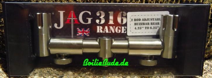 JAG Products 2 Rod Adjustable Buzzer Bar Front