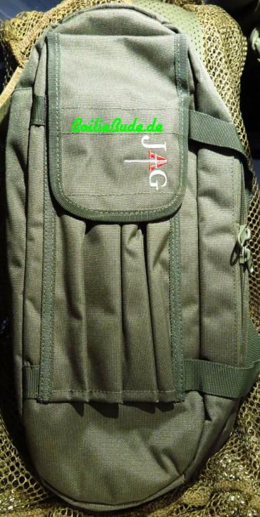 JAG Products Buzzbar Bag Green 3 Rod