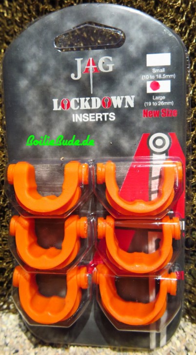 JAG Products Lockdown Large 316 Inserts Orange