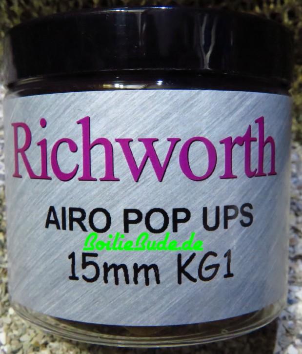 Richworth K-G-1 Pop Up´s 15mm