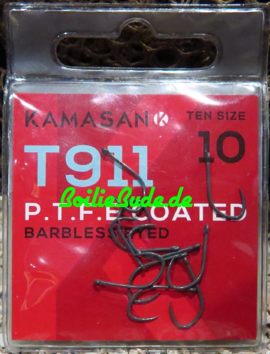 Kamasan T911 Barbless Eyed