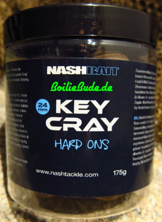 Nashbait Key Cray Hard-Ons 24mm, 175gr. Harte Hakenköder