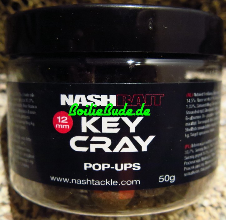 Nashbait Key Cray Pop Up´s 12mm, 50gr.