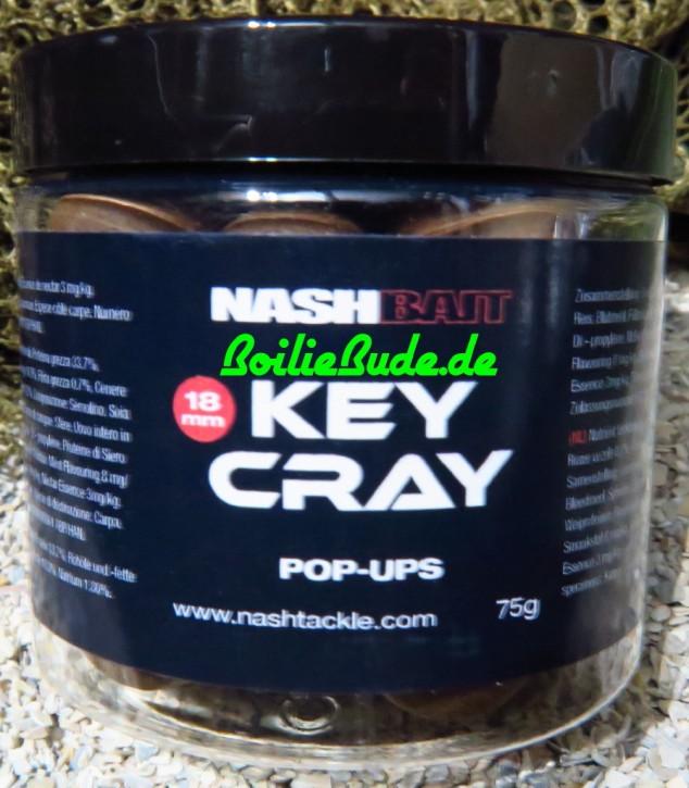 Nashbait Key Cray Pop Up´s 18mm, 75gr.