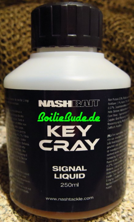 Nashbait Key Cray Signal Arouser Liquid 250ml