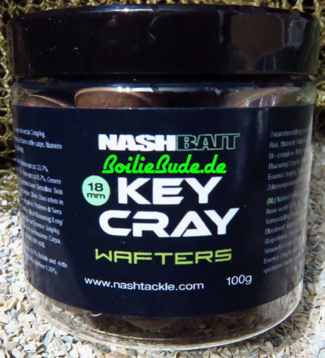 Nashbait Key Cray Wafters 18mm, 100gr.