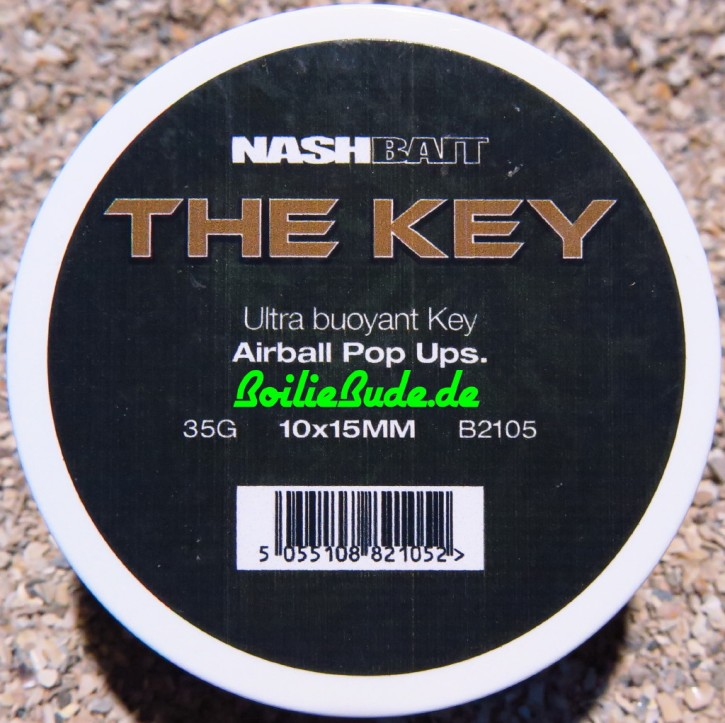 Nashbait The Key Pop Ups 10mm x 15mm