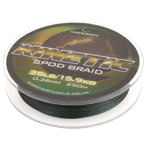 Gardner Tackle Kinetic Spod Braid 35lb , 0,36mm