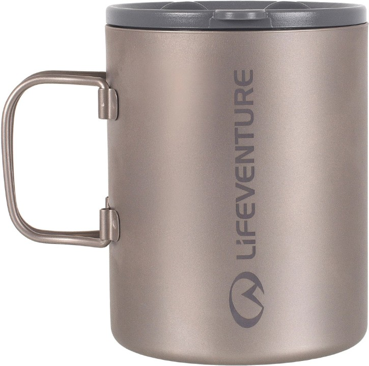 Lifeventure Titanium Insulated Mug
