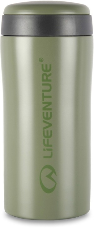 Lifeventure Thermal Mug Matt Khaki