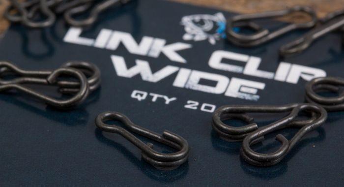 Nash Tackle Link Clips Wide