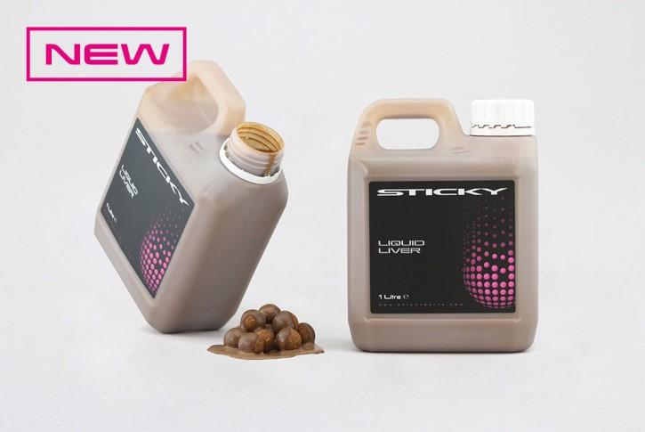 Sticky Baits Liquid Liver, 1Liter