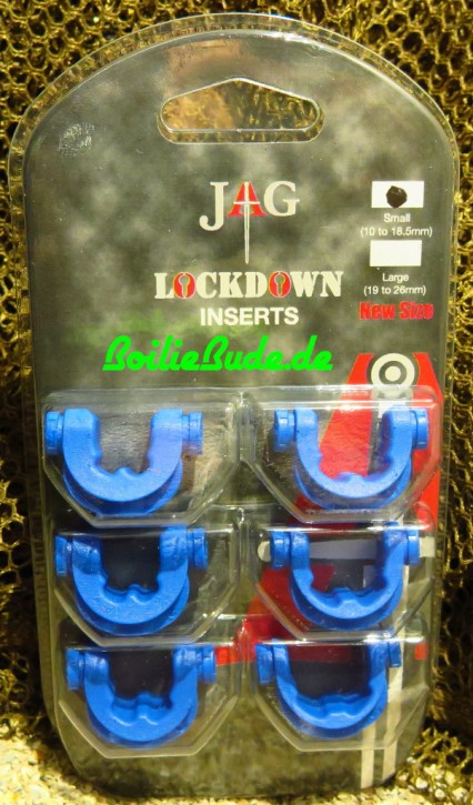 JAG Products Lockdown Small 316 Inserts Blue