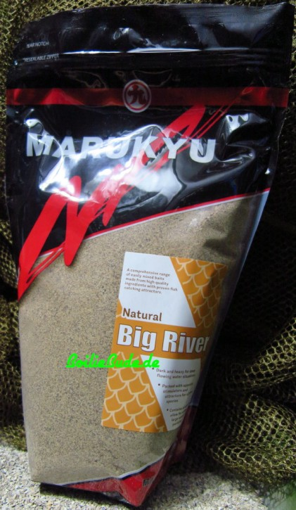 Marukyu Natural Big River Groundbait, 2Kg