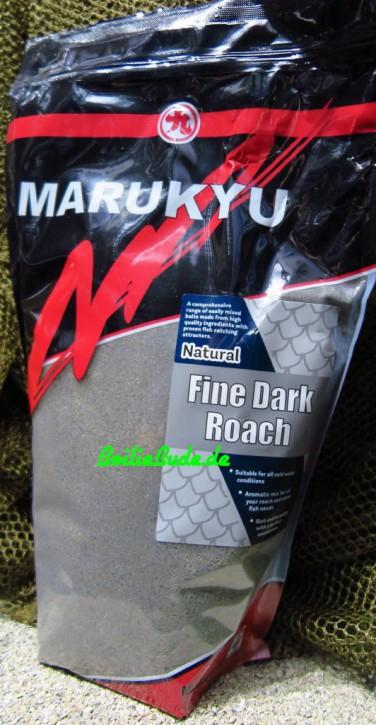 Marukyu Natural Roach Dark Fine Groundbait, 2Kg