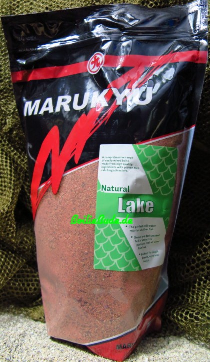 Marukyu Natural Lake Groundbait, 2Kg