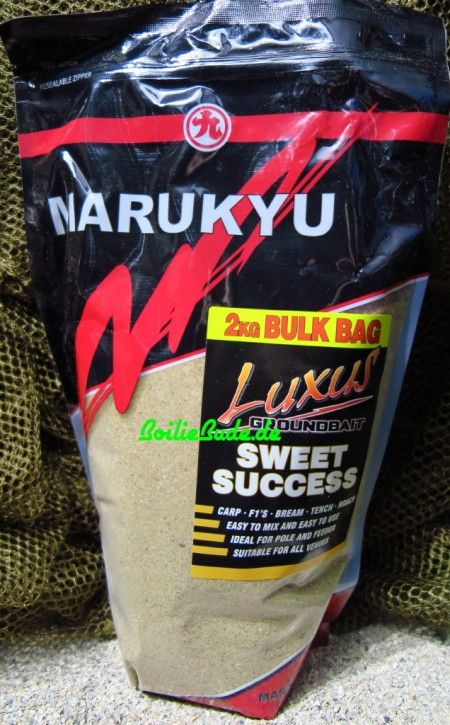 Marukyu Luxus Sweet Success Groundbait, 2Kg