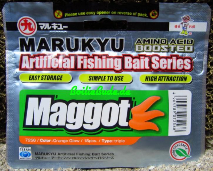 Marukyu AFBS Maggot, künstliche Maden