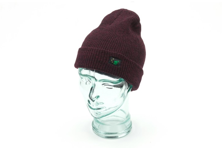 Thinking Anglers Beanie Antique Burgundy