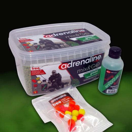 Middy Adrenaline Method Mix & Go Green Betaine Boost