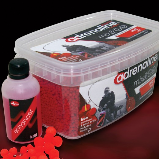 Middy Adrenaline Method Mix & Go Red Krill