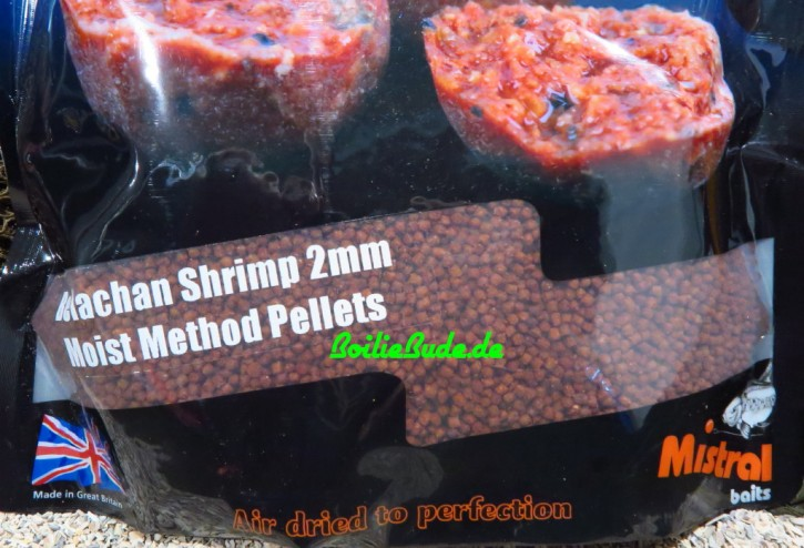 Mistral Baits Belachan Shrimp Moist Feeder Pellets 2mm, 900gr