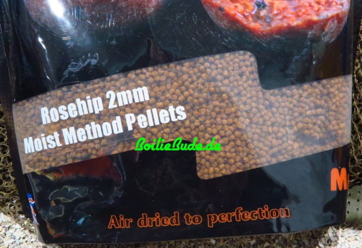 Mistral Baits Rosehip Moist Feeder Pellets 2mm, 900gr
