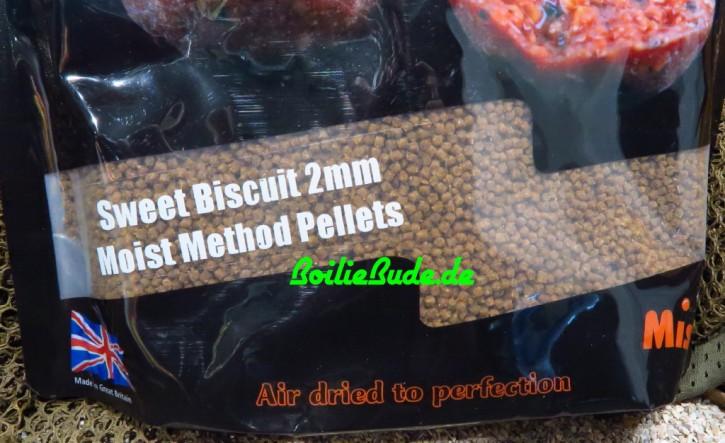 Mistral Baits Sweet Biscuit Moist Feeder Pellets 2mm, 900gr