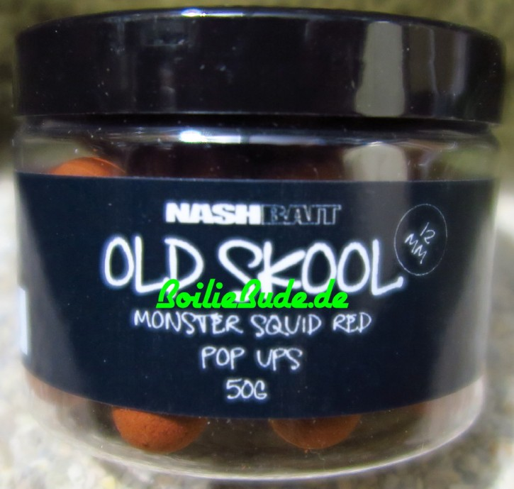Nashbait Monster Squid Red Pop Up´s 12mm, 50gr.