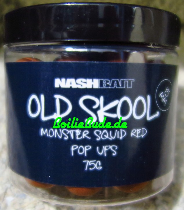 Nashbait Monster Squid Red Pop Up´s 15mm, 75gr.