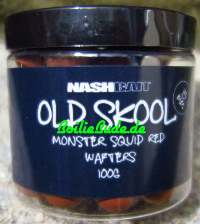 Nashbait Monster Squid Red Wafter 15mm, 100gr.
