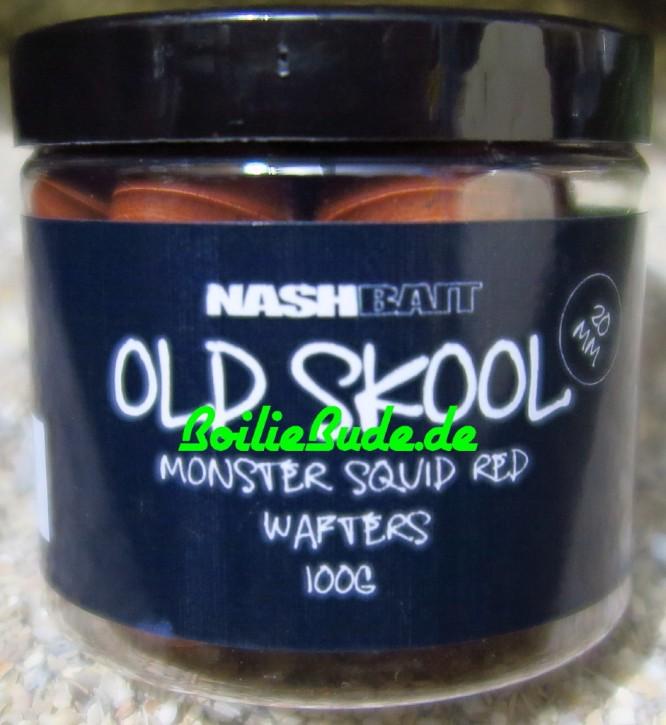 Nashbait Monster Squid Red Wafter 20mm, 100gr.