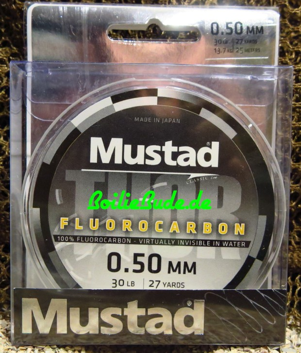 Mustad Thor Fluorocarbon Leader 30LB, 25m