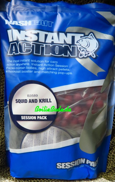 Nashbait Instant Action Squid & Krill Session Pack