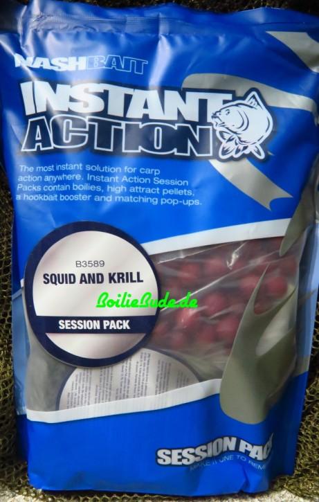 Nashbait Instant Action Squid & Krill Session Pack