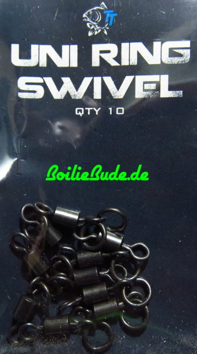 Nash Tackle Uni Ring Swivels, 10 Stück