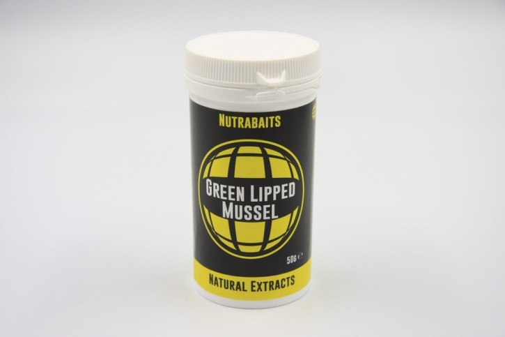 Nutrabaits Green Lipped Mussel 50gr.