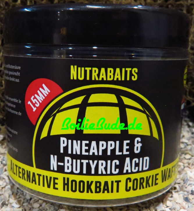Nutrabaits Pineapple & N-Butric Hi-Attract Wafter 15mm