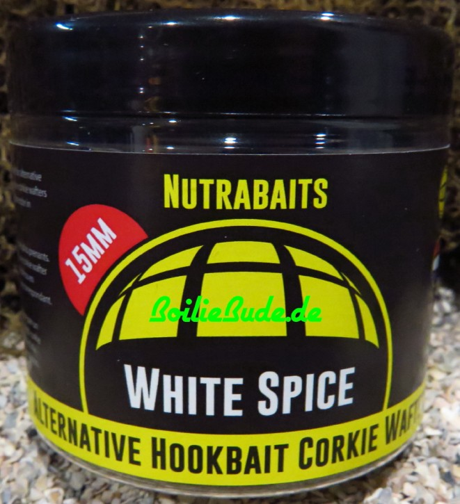 Nutrabaits White Spice Hi-Attract Wafter 15mm