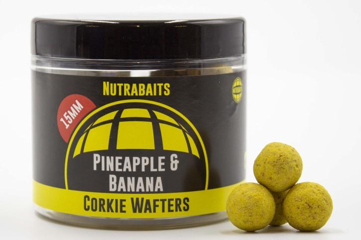 Nutrabaits Pineapple & Banana Corkie Wafter 15mm