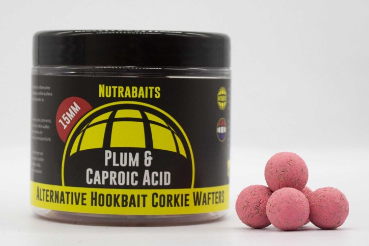 Nutrabaits Plum & Caproic Corkie Wafter 15mm