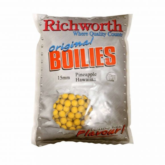 Richworth Pineapple Hawaiian Boilies 15mm