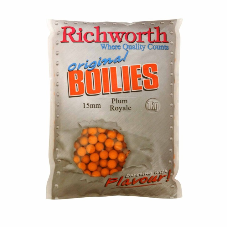 Richworth Plum Royale Boilies 20mm / 5kg