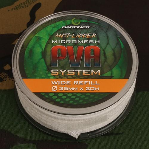 Gardner Tackle PVA Wide Micro-Mesh Refill 20m