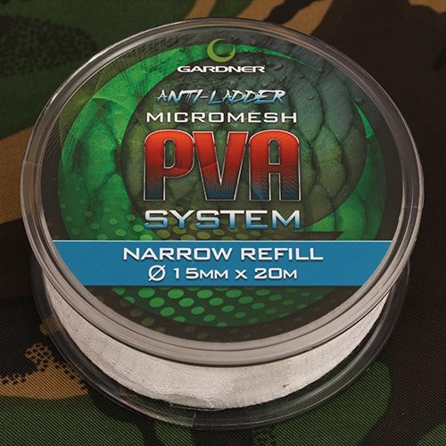 Gardner Tackle PVA Narrow Micro-Mesh Refill 20m