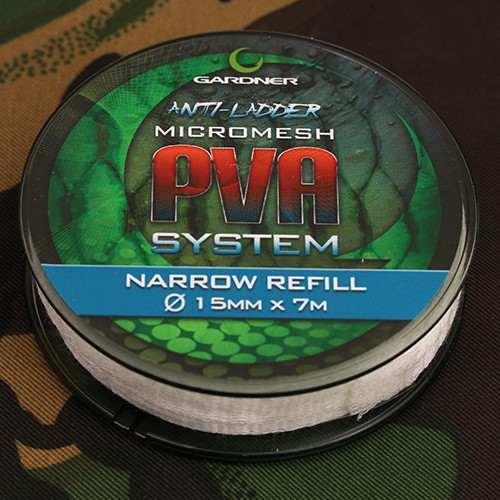 Gardner Tackle PVA Narrow Micro-Mesh Refill 7m