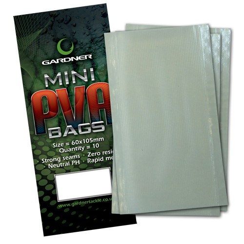 Gardner Tackle PVA Bags Mini, Bulk-Packung